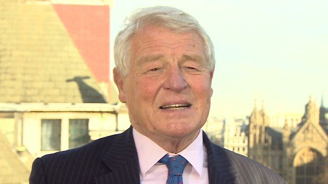 Paddy Ashdown in a BBC interview