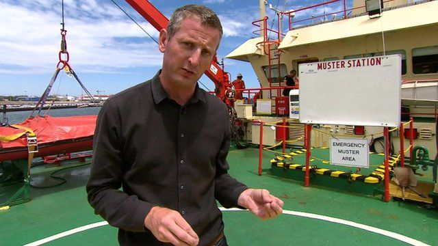 Our correspondent Jon Donnison has been given rare access to one of the search ships and reports now from Perth