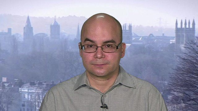 Carlos Vargos-Silva of Oxford University who worked on an analysis of migration to UK