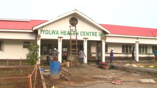 Iyolwa health Centre in Uganda