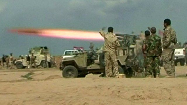 Shia militias push forward to recapture Tikrit