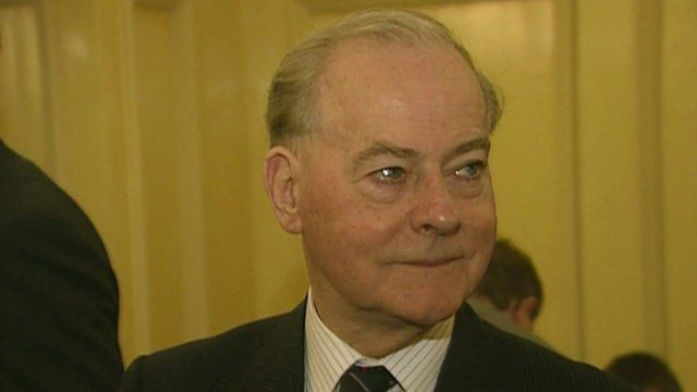 Former Ulster Unionist Party leader James Molyneaux