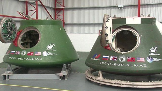 The departure of a Russian space station and capsule from the Isle of Man could signify the end of Manx space tourism