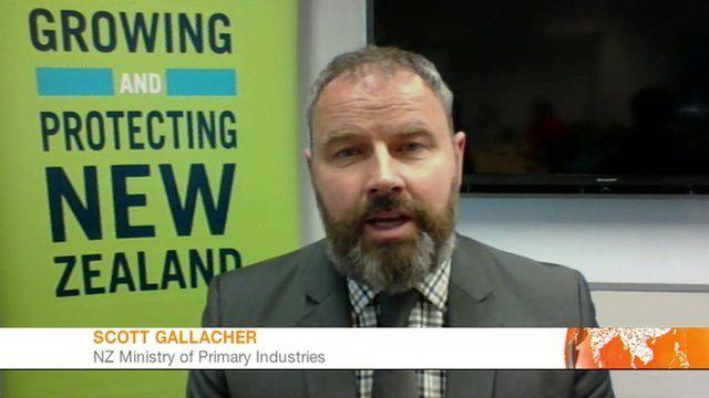 Scott Gallacher, NZ Ministry of Primary Industries
