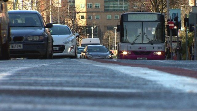 BBC News NI's Michael Fitzpatrick looks at how the strike will affect public transport