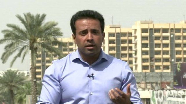 Ahmed Maher reports from Tikrit