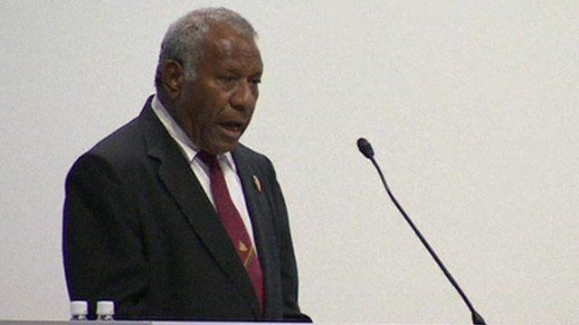 President Baldwin Lonsdale