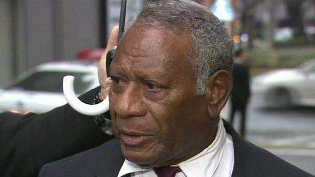 Baldwin Lonsdale, President of Vanuatu