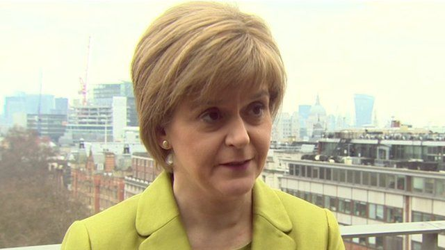But SNP leader Nicola Sturgeon