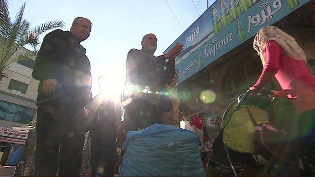 Market in Ramallah
