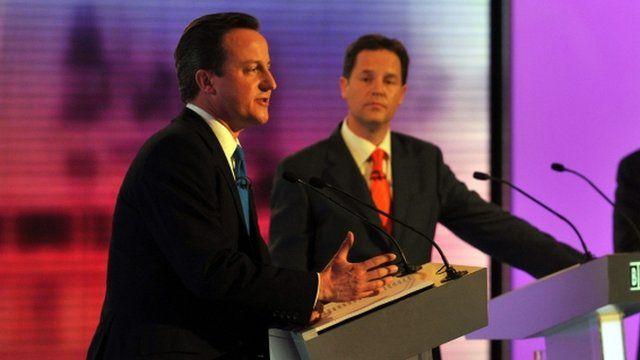 General election 2010 TV debate
