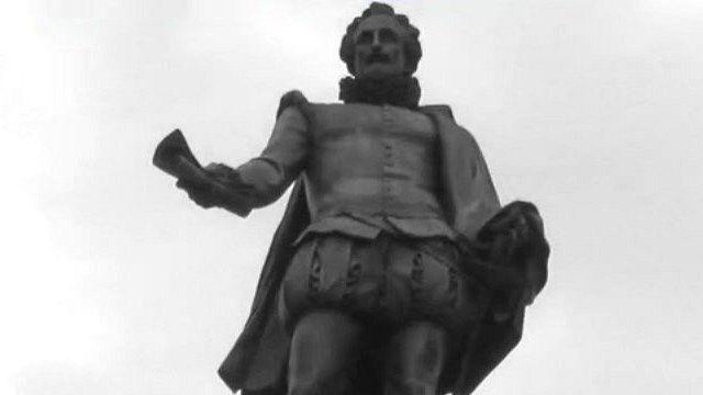 Statue of Miguel de Cervantes