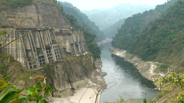 Proposed hydropower site