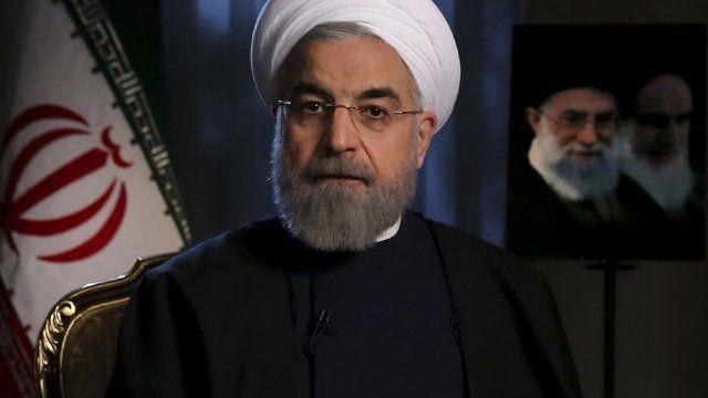 Iran's President Hassan Rouhan