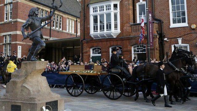Richard III cortege