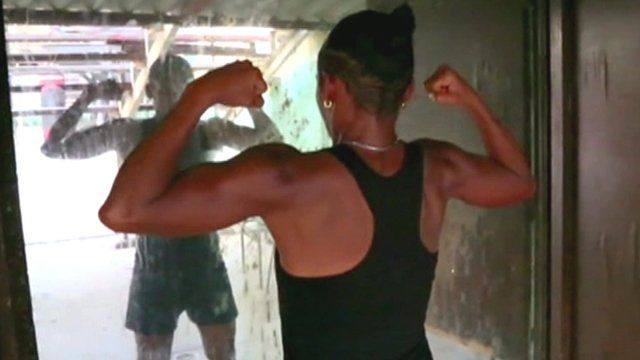 Namibia Flores, is the only known woman boxer in Cuba