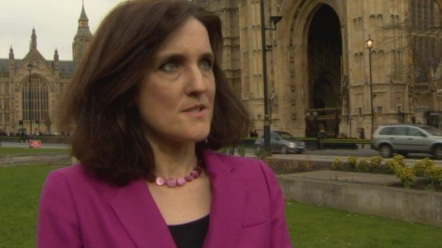Theresa Villiers said that the letters are not and never were an amnesty