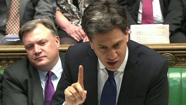 Ed Miliband at PMQs
