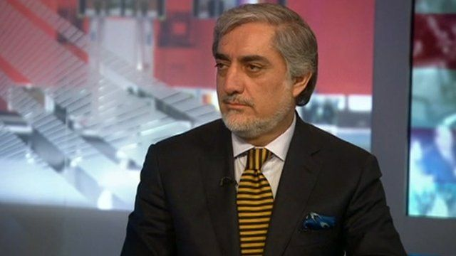 Afghan Chief Executive Abdullah Abdullah discusses the issues facing his country