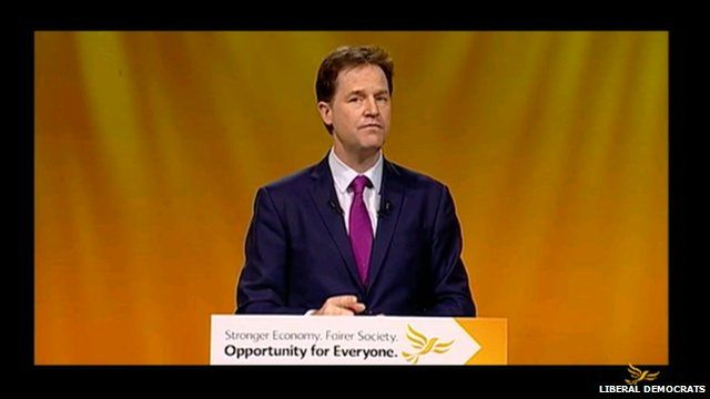 Nick Clegg video