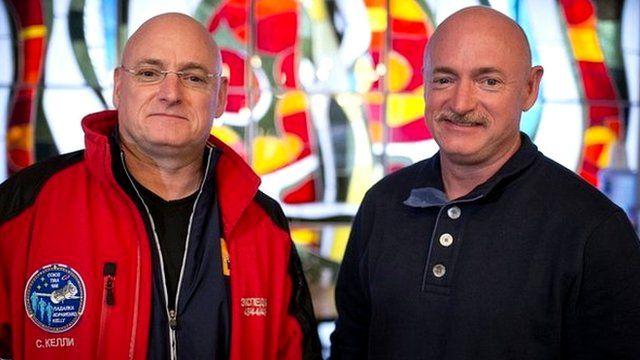 Twins Scott and Mark Kelly