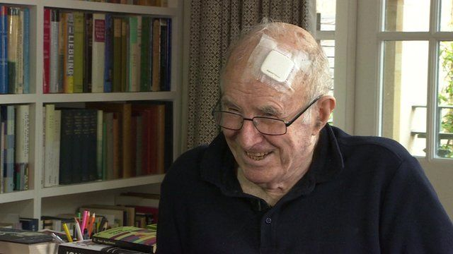 Broadcaster and poet Clive James