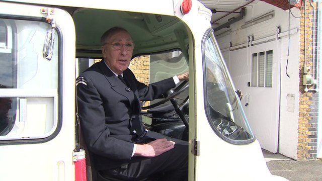 Mark Bailey, retired Ambulance driver