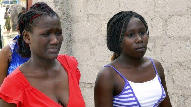 Students from Garissa University College