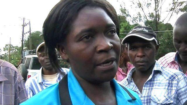 Felisitas Kavosi, mother of Garissa University victim