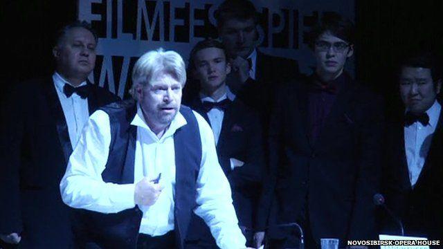 Still from opera footage