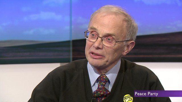 John Morris of Peace Party
