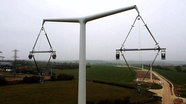 New electricity pylon