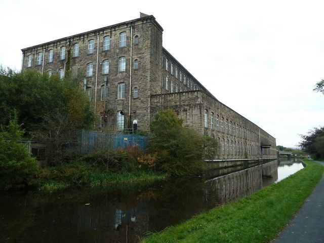 Brierfield Mill in Pendle