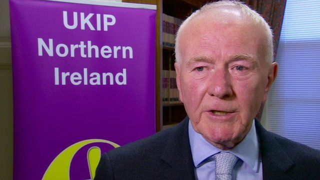 David McNarry launched the party's Northern Ireland manifesto