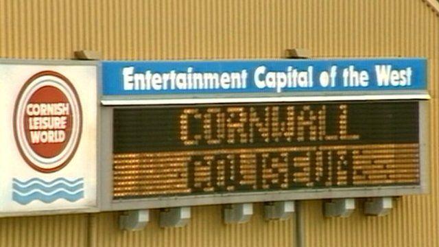 Cornwall Coliseum sign
