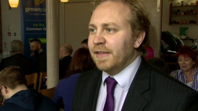 Steven Agnew said his party was calling for a non-violent, green, grassroots revolution