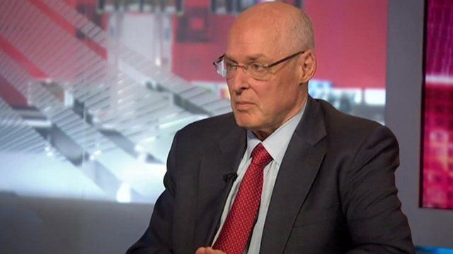 Paulson: US problems 'pale in comparison' to China's