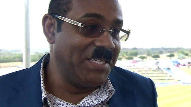 Prime Minister of Antigua, Gaston Browne