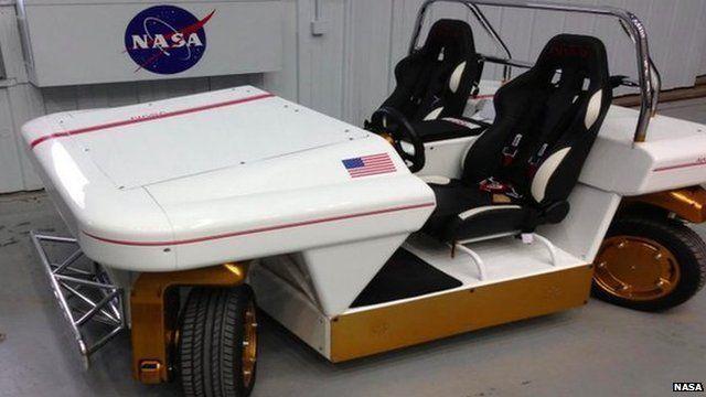 The Nasa car that can drive sideways