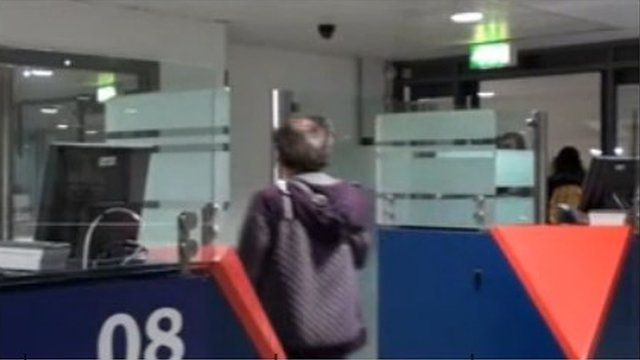 Airport footage