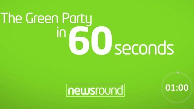 The Green Party in 60 seconds