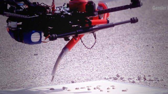 Printer drone