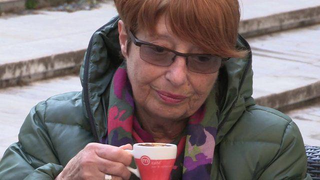 Italian pensioner Diva