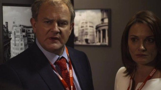 Hugh Bonneville in W1A