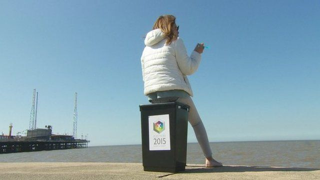 Annabel Tiffin in Blackpool