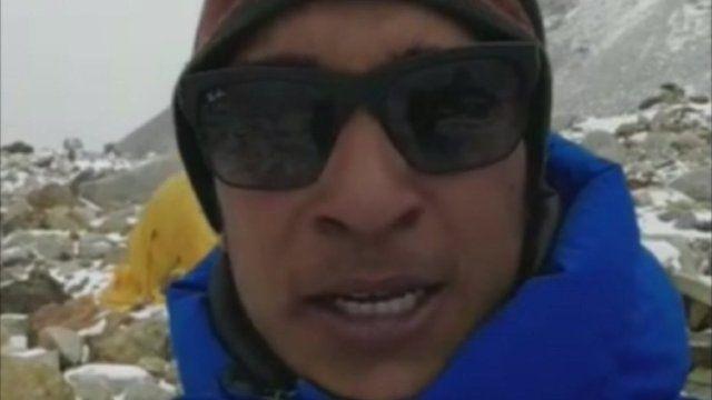 Indian mountaineer Arjun Vajpal