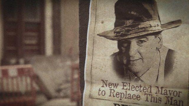 Retiring mayor Ray Mallon