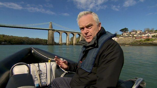 Huw Edwards on the Menai Strait