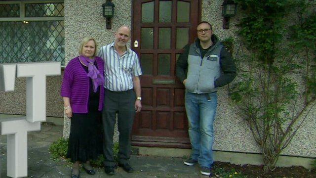 Neil Milton and parents