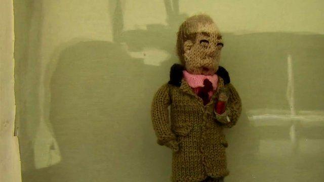 Knitted Nigel Farage